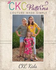 Chanel's Classic Fitted T-Shirt, Tunic, Dress, and Maxi Sizes 2T to 14 Girls PDF Pattern