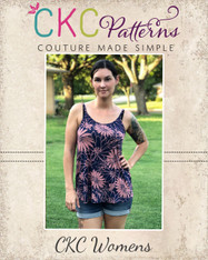 Kendal's Tank Top Sizes XXS to 4X Women PDF Pattern