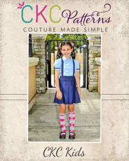Pauline's Pleated Skirt Sizes 6m to 14 Girls PDF Pattern