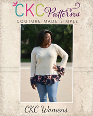 Selma's Layered Top Sizes XXS to 3X Adults PDF Pattern