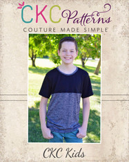 Malachi's Color Block Tee Sizes 2T to 14 Boys PDF Pattern