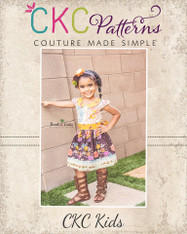 Jayne's Joyous Slip-on Dress and Peplum sizes 2T to 14 Girls PDF Pattern