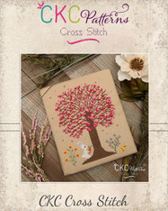 "4 Seasons ""Spring"" Cross Stitch PDF Pattern"