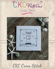 """Nautical """"Light House"""" Cross Stitch PDF Pattern"""