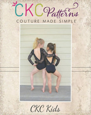 Pebble's Perfect Dancewear Sizes 2T to 14 Kids PDF Pattern