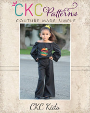 Mercy's Boho Romper Sizes 2T to 14 Girls PDF Pattern