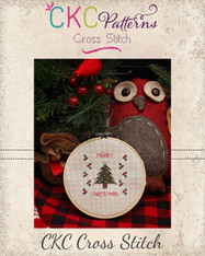 """Merry Christmas"" Cross Stitch PDF Pattern"