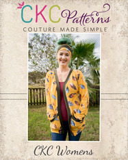 Emmalyn's Cardigan Sizes XXS to 3X Women PDF Pattern