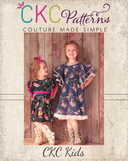 Sylvia's Sweet Knit Dress Sizes 2T to 14 Girls PDF Pattern