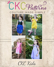 Arabella's Dress-up Dress Sizes 2T to 14 Kids PDF Pattern