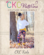 Jaycee's Joggers sizes 2T to 14 Girls PDF Pattern