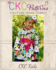 Willow's Wrap Jacket Sizes NB to 15/16 Kids and Dolls PDF Pattern