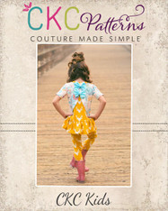 Aster's Amazing Layered Top Sizes 2T to 14 Girls PDF Pattern