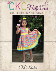 Sheena's Double Circle Dress and Tunic sizes 2T to 14 Girls PDF Pattern