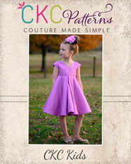 Juliette's Perfect Party Dress sizes 2T to 14 Girls PDF Pattern