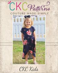 Tamara's Tulip Dress Sizes 2T to 14 Girls PDF Pattern