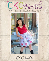 Janelys' Dress Sizes 2T to 14 Kids PDF Pattern