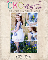 Paloma's Pocket Dress Sizes 2T to 14 Kids PDF Pattern