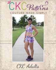 Wilma's Gym Wear Sizes XXS to XL Adults PDF Pattern