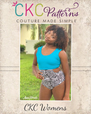 Kellyann's One-Piece Sizes XXS to XL Adults PDF Pattern