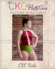 Makinley's Mesh Leotard Sizes XXS to XL Adults PDF Pattern