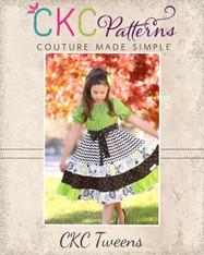 Joy's Tween Lace Twirly Dress PDF Pattern