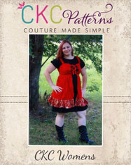 Cassidy's Corset Cover Dress and Top Sizes XS to XL Women PDF Pattern