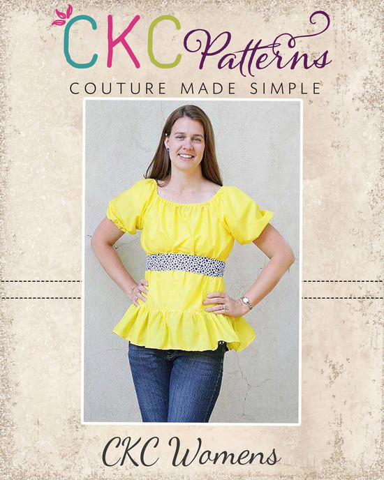 d7ebe34d2048 Home · All Sewing Patterns; Felicity's Simple Peasant Top Sizes XS to 5X  Adults PDF Pattern. Image 1