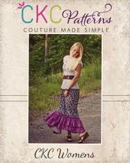 Gloria's Maxi Skirt Sizes XS to XL Women PDF Pattern