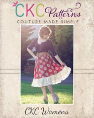 Harmony's Twirly Lace Skirt Sizes XS to 5X Women PDF Pattern