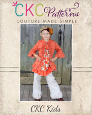 Adele's Ruffled Jacket Sizes 0/6m to 8 Girls PDF Pattern