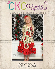 Tori's Bustled Princess Dress PDF Pattern
