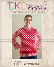 Trista's Knit Pixie T-Shirt Sizes XS to XL Women PDF Pattern