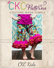 Valentina's Fabric Petti Pants and Capris Sizes 6/12m to 8 Girls PDF Pattern