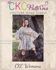 Hazel's Hippie Dress Sizes XS to 5X Adults PDF Pattern