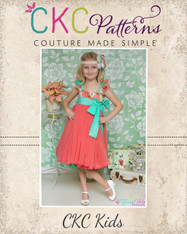 Bethany's Fancy Party Dress Sizes NB to 15/16 Girls PDF Pattern