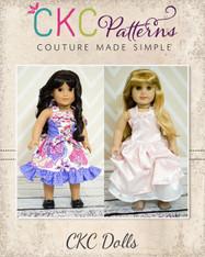 Cheyenne's Perfect Party Dress Doll Size PDF Pattern