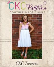 Bethany's Tween Fancy Party Dress PDF Pattern