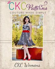 Suzanne's Sweetheart Swirly Dress Sizes XS to XL Women PDF Pattern
