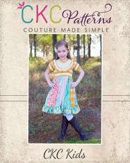 Landry's Stripwork Knit & Woven Dress PDF Pattern
