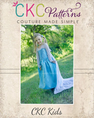 Elise's Everyday Princess Dress Sizes 6/12m to 15/16 Kids and Dolls PDF Pattern