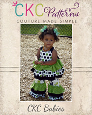Kiki's Baby Extra Ruffled Top PDF Pattern