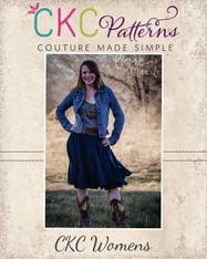 Victoria's Ruffled Swirly Skirt Sizes XS to XL Women PDF Pattern