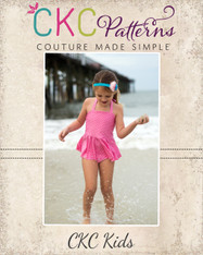 Arielle's Tankini Sizes 2T to 8 Girls PDF Pattern