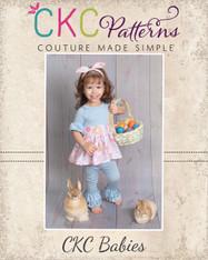 Kelsey's Baby Ruffled Leggings PDF Pattern