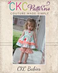 Layne's Baby Ruffle Shorts PDF Pattern