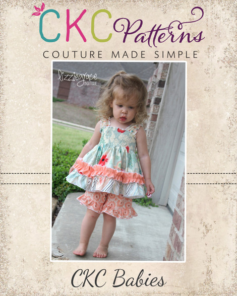 6cef32d59 Baby Layne s Boutique Ruffle Shorts PDF Pattern