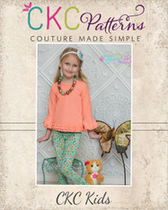 Brenda's Bubble Sleeve Top Sizes 6/12m to 15/16 Girls  PDF Pattern