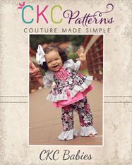 Caroline's Baby Princess Peasant Top & Dress PDF Pattern