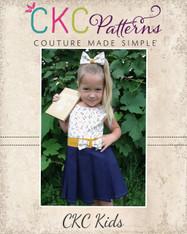 Ginny's Academy Jumper Sizes 6/12m to 8 Kids PDF Pattern